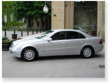 e-class merc outside registry office
